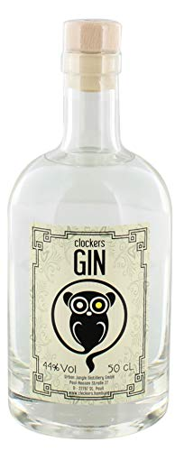 Clockers Gin - St.Pauli 44% Vol. - 0,5l