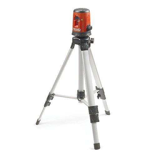 RIDGID 38758 Kit Livella Laser a linee incrociate auto-livellante, Micro CL-100, livella laser orizzontale e verticale con portata interna di 30 metri