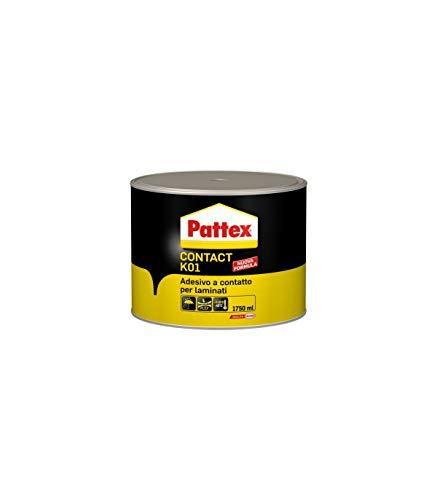 Pattex Colle Contact K01 Adhésif compensé tôle de Contact laminés 1750 ml