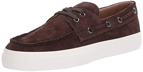 Vince Men's Ferry Boat Shoe, Dark Brown, 7.5