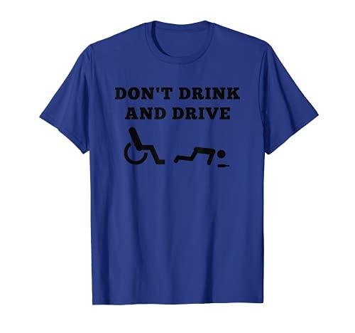 Rollstuhl Fahrer Shirt | Lustiges Geschenk | Rolli