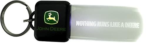 John Deere - Llavero con luz LED (luz Continua o con Control de Movimiento)