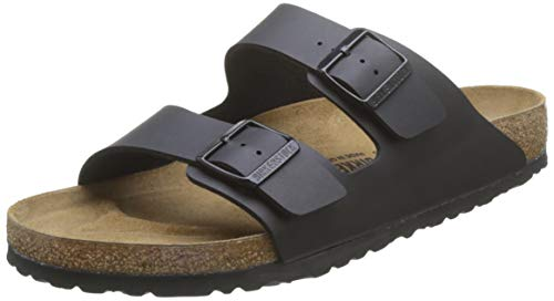 Birkenstock Women's Arizona  Birko-Flo Black Sandals - 38 M EU