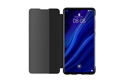 Huawei P30 Smart View Flip Cover Black