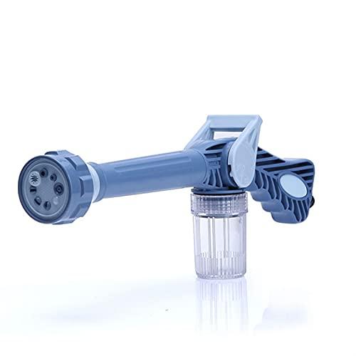 Lixiaonmkop Autoschaummaschine Multifunktionale Sprinkler 8 in 1 Gartenschlauch Schaumdüse Wasserpumpe Waffe Waschmaschine Reinigung Auto Waschmaschine