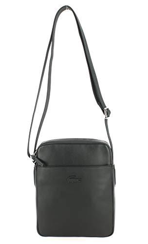 Lacoste L 12 12 CUIR BUSINESS kleine tassen heren zwart portemonnee/handtas