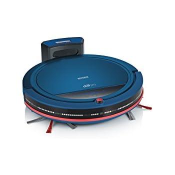 Severin RB 7028, Robot Aspirador, Incluye Set Premium con Base de Carga, Control Remoto y Pared Virtual, S´Special Chill Pro, Azul/Rojo: Amazon.es: Hogar