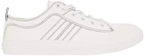 Diesel Herren S-astico Low Lace Sneaker, Weiß (Star White T1015-Pr012), 43 EU