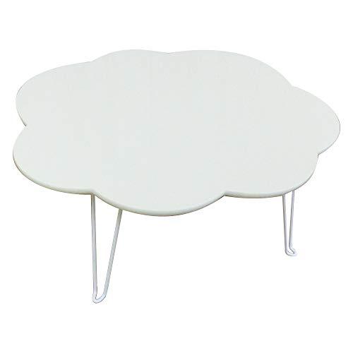 NaturalHouse ミニテーブル 折りたたみ 雲型 幅44 奥行38 高さ19 cm ローテーブル テーブル 完...