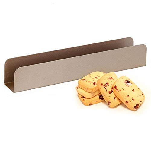 2Pack U-Shaped Cranberry Cookie Mould Carbon Steel Baking Pans Cookie Sheets Non-Stick Rectangular for Deluxe Cookie Sheets Easy To Clean