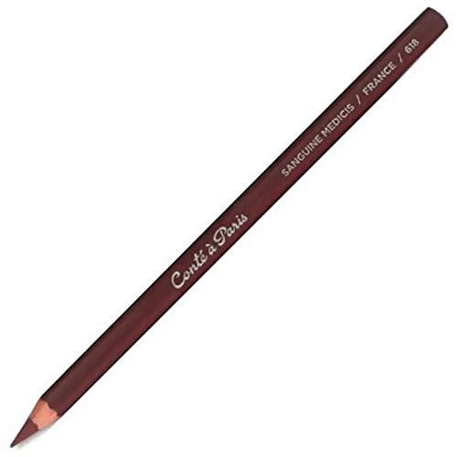 Conté à Paris Round Drawing Pencil - Sanguine Medicis