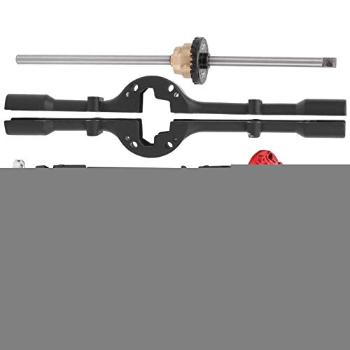 AMONIDA Differentialantriebswelle der Metallachse Differentialantriebswelle der Achse, Differentialantriebswellen-Kit der Achse, 4,1-Zoll-Differentialantriebswellen-Kit der Achse für(Black)