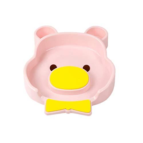 Bidet Baño de plástico Lavabo para bebés Recién Nacido Bañera Limpio Culo Bebé de PP Baño Bebé Bidé y Tina para Lavar el Cabello 2 en 1 (Color : Pink)