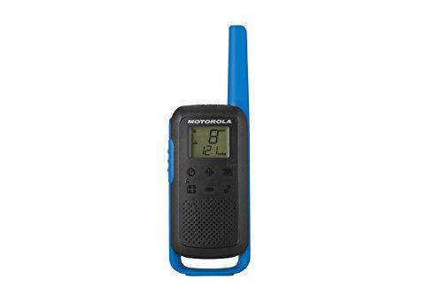 Motorola Talkabout T62PMR, Radio de Banda ciudadana (PMR446, 16Canales y 121Códigos, Alcance de 8Km, Azul