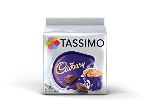 Tassimo Kapseln Cadbury Hot Chocolate 40 Kaffeekapseln, 5er Pack, 5 x 8 Getränke