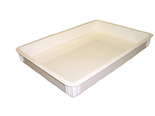 Pizza deeg bak 460x660x76mm Cambro DB18263CW-148 Wit
