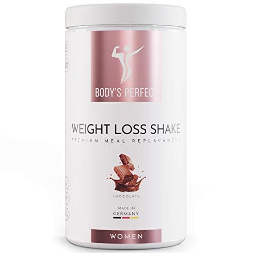 BODY\'S PERFECT® - Weight Loss Shake für Frauen, Diät Shake zum abnehmen mit hochwertigem Protein, mit allen wichtigen Vitaminen und Mineralstoffen, 500g (Schokolade)