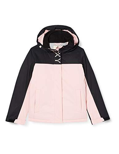 Roxy Galaxy - Chaqueta Para Nieve Para Niñas 8-16 Chaqueta Para Nieve, Niñas, powder pink, 16/XXL