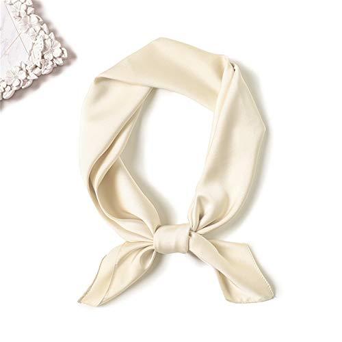 K-ONE Pañuelo de Seda para Mujer de Primavera y Verano, Chal Cuadrado...