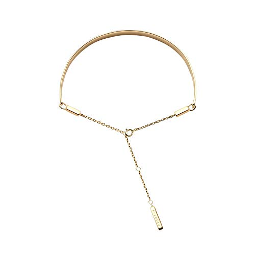 MEMORA P D PAOLA PU01-045-U Women's Silver Gold Plated Bracelet