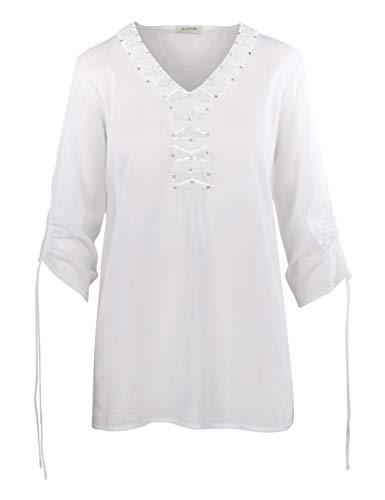 Malvin Damen Tunika, White (weiß) (DE42)