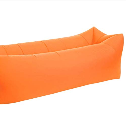 Quick Folding Garden Sofa Waterproof Inflatable Bag Lazy Sofa Camping Sleeping Bag Air Bed Adult Beach Lounge Chair