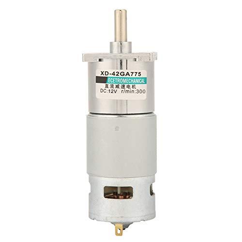 Motor De Engranajes De CC, Motor De Engranajes De 12 V / 24 V De Alta Potencia Para Amoladoras Eléctricas(300 RPM, 12V)