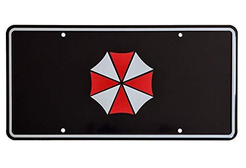 Super6props Umbrella Corporation Resident Evil Aluminium License Plate 300mm x 150mm