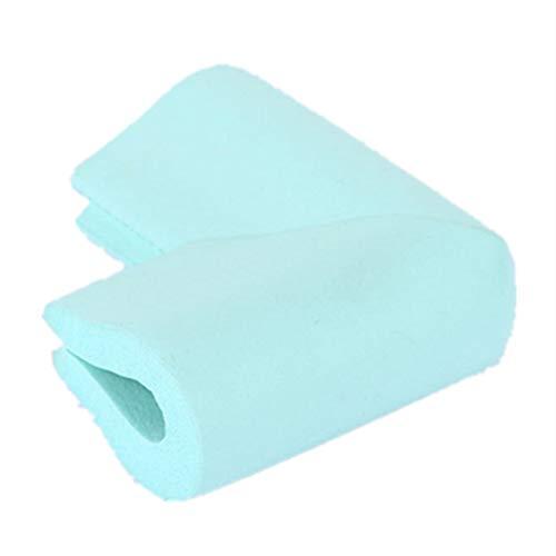 Eckenschutz und Kantenschutz,Morbuy U-Typ 10 Stück Geruchsneutral Dick Tischkantenschutz kinderschutz Kindersicherung für Tisch und Möbel Ecken (Blau)