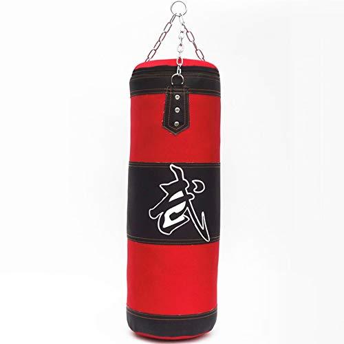 Cestbon Boxing Boxsack, Boxsack Gefülltes Set Junior Kickboxen Heavy Training Jugendhandschuhe Fausthandschuhe Muay Thai Martial Arts,80cm