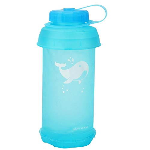 zhuolong Botella de Agua Plegable portátil al Aire Libre 750ML para Ciclismo...