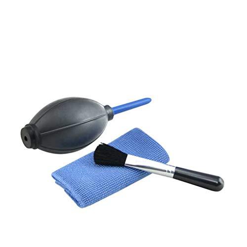 Fliyeong Kit de limpieza digital profesional 3 en 1 para cámara de ordenador, juego de limpieza de lentes para cámaras, PC o pantallas de teléfono, conveniente y práctico