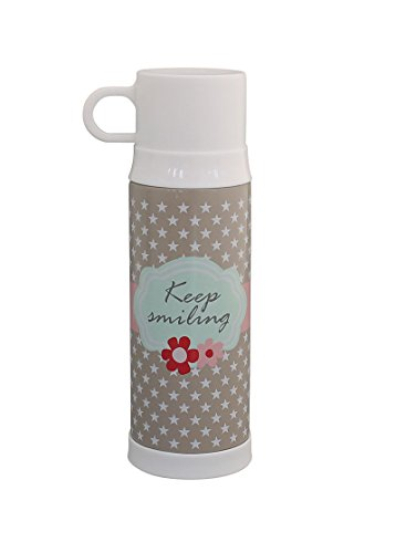 Krasilnikoff - Thermosflasche - 'Keep Smiling' - 500 ml