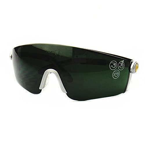 YHD Las Gafas De Seguridad, A Prueba De Polvo Antivaho Y Anti-Ultravioleta Se Utilizan para Soldadura EléCtrica En Laboratorios Industriales Y AgríColas