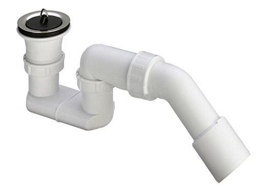 Viega Dusche Ablaufgarnitur 1 1/2 x 40/50 Ablaufbogen Geruchsverschluss Siphon Sifon Duschtassse Garnitur