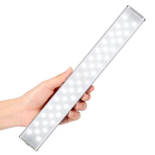 LED Schrank Licht mit Bewegungsmelder, LOFTer 44 LED für Schrank, Küchenlampen 3 Modi Intelligente LED Küchenleuchte, Unterbauleuchte mit magnetischem Streifen