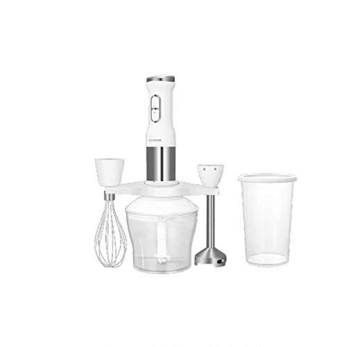 Handig voor thuis Staafmixer elektrisch keuken Portable foodprocessor mixer sapcentrifuge Multi functie van Quick hjm jiadianshuma (Color : White)