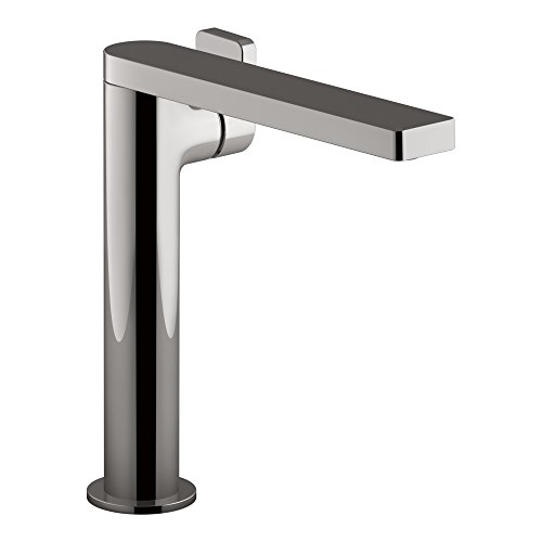 Kohler K-73168-4-TT 73168-4-TT Composed Tall Single Bathroom Sink Faucet with Lever Handle, -