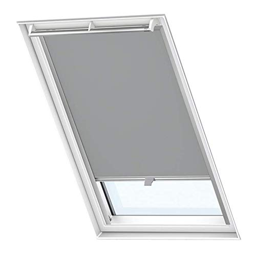 Froadp C04 Verdunkelungs Rollos Sonnenschutz Thermorollos Hitzeschutz Velux Jalousien für Dachfenster Fensterdekoration Springrollos GDL/GGL/GGU/GPL/GPU/GXU(38,3×74cm)