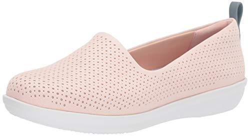 Price comparison product image Clarks Women's Ayla Blair Ballet Flat,  Light Pink Synthetic Nubuck,  60 M US