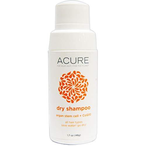 Acure Organics, Dry Shampoo, Argan Stem Cell + CoQ10, 1.7 oz (48 g) - 2pc