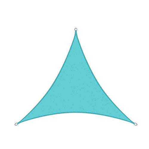 sun shade sail Canopy Sail Sarsshade UV Block para Patio Yard Backyard 3S1V8Q (Color : Lakeblue, Size : 3X4X5M)