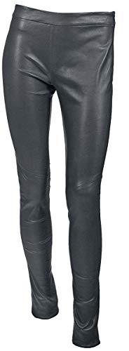 Gipsy G2G Alara SF LNS Frauen Lederhose anthrazit L 100% Leder Rockwear