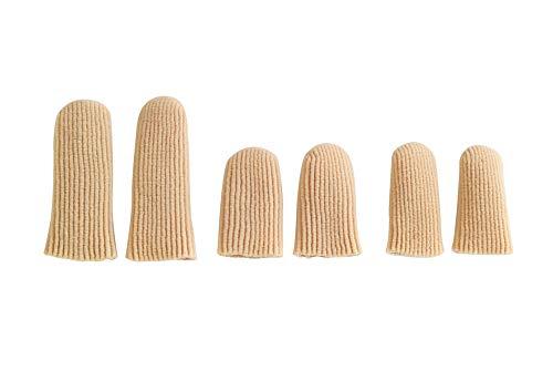 WENKO Finger-& Zehenschutz Set Soft Schutz Zehen Hühneraugen Schutzhaube
