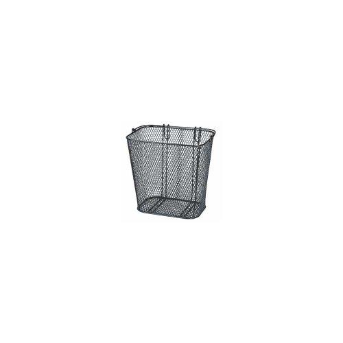 KlickFix Shopper Hinterradkorb, schwarz, 32 x 30 x 20 cm