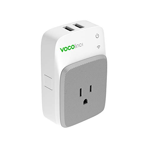 VOCOlinc Smart Plug with 2 USB Charging Ports