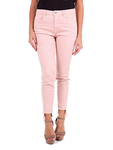 Luxury Fashion | Maryley Dames 9EB591PINK Roze Elasthaan Jeans | Seizoen Outlet