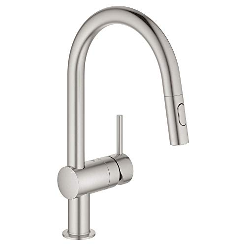 Grohe 31378DC3 Minta Single-Handle Kitchen Faucet,...