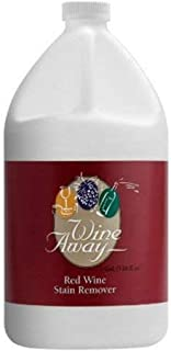 Wine Away Red Wine Stain Remover - Removes Wine Spots - Perfect Fabric Upholstery and Carpet Cleaner Spray Solution - Spray on Stain Wash and Resolve Laundry to Vanish Stain - Zero Odor - 1 Gallon