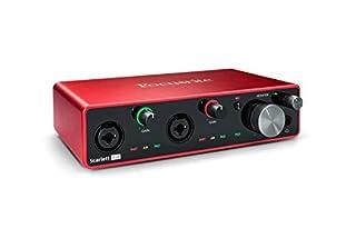 scheda focusrite scarlett 4i4 3rd gen - interfaccia audio